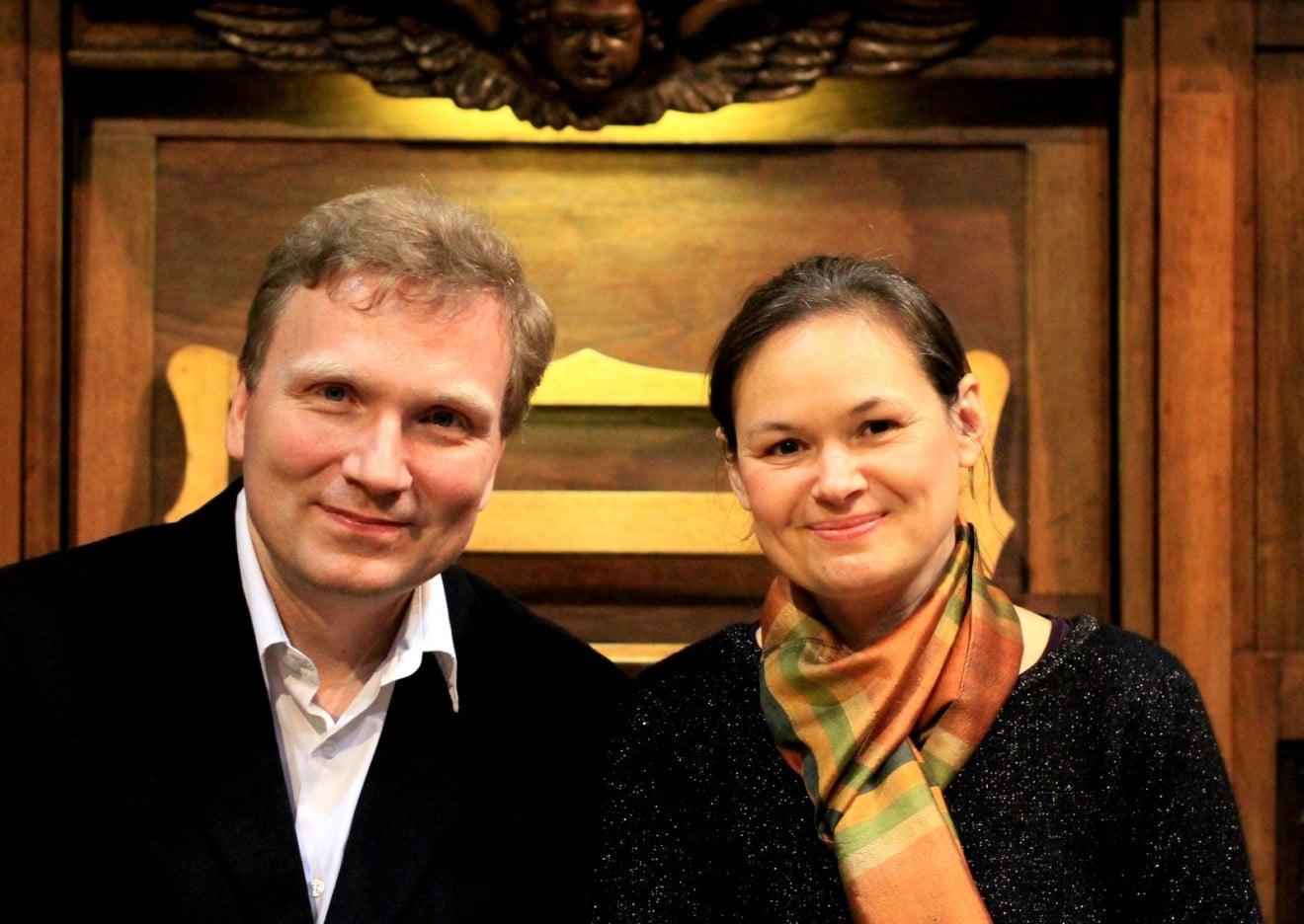Eric Lebrun et Marie-Ange Leurent - 01