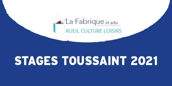 Les rendez-vous de la Toussaint à la Fabrique in situ Rueil Culture Loisirs